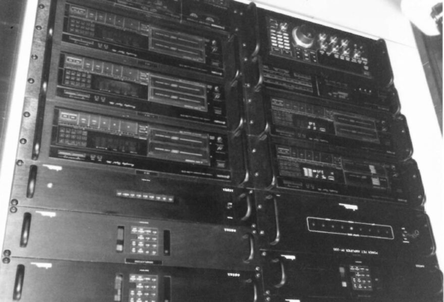 Old ADA-system — One of the first centralized audio distribution systems onboard